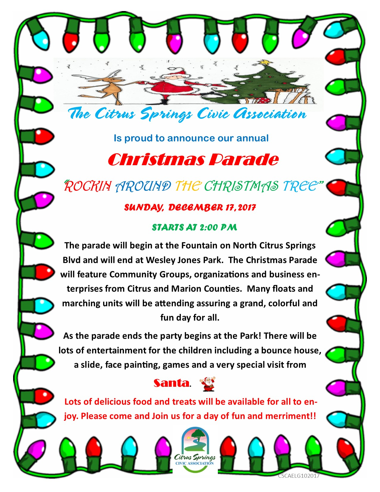 Christmas Parade | Citrus Springs
