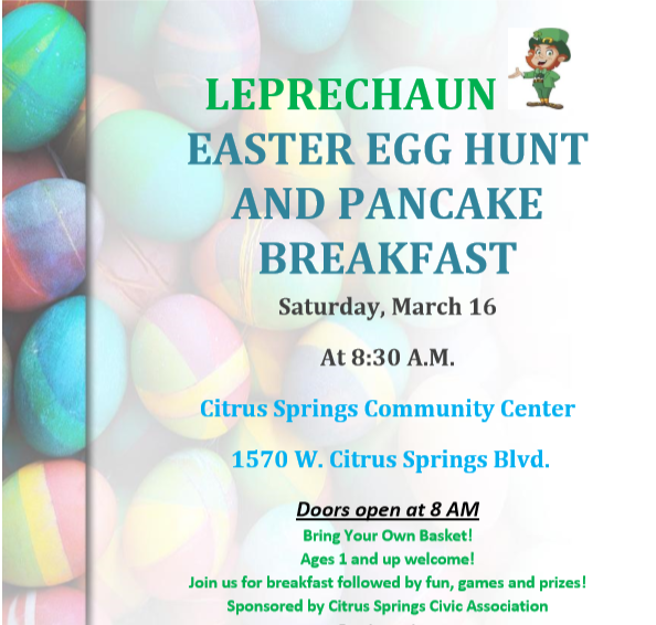 Citrus Springs Easter Egg Hunt